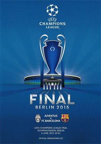 2015 UEFA Champions League Final - Image: 2015 UEFA Champions League Final programme