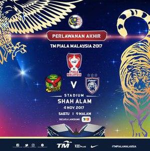 2017 Malaysia Cup Final - Image: 2017 Malaysia Cup Final logo 1