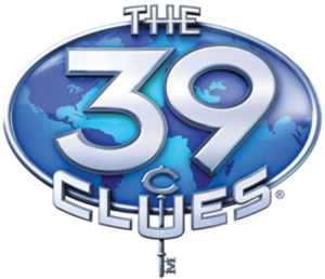 The 39 Clues - Image: 39 Clues logo
