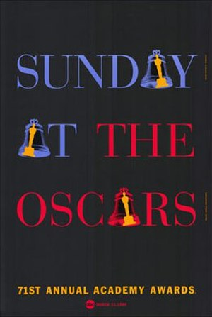 71st Academy Awards - Official poster