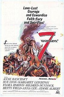 <i>7 Women</i> 1966 film directed by John Ford