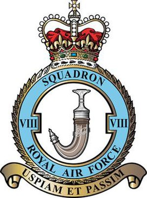 No. 8 Squadron RAF - 8 Squadron badge