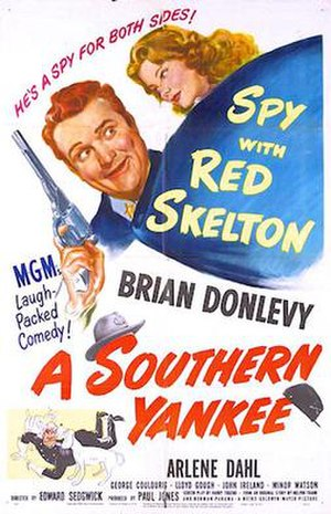 A Southern Yankee - 1948 Theatrical Poster