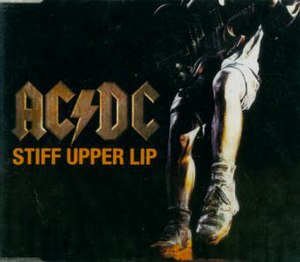 Stiff Upper Lip (song) - Image: Acdcstiffupperlipsin gle