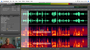 Adobe Soundbooth CS3 running on Mac OS X