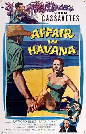 Affair in Havana - Theatrical release poster