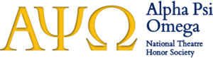 Alpha Psi Omega - Image: Alpha Psi Omega Logo
