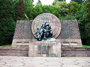 André Maginot - André Maginot Memorial, Verdun battlefield, original design Gaston Brouquet, dedicated 1966.