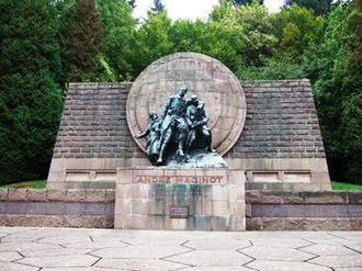 André Maginot - André Maginot Memorial, Verdun battlefield, original design Gaston Brouquet, dedicated 1966.