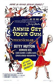 <i>Annie Get Your Gun</i> (film) 1950 film by Busby Berkeley, George Sidney, Charles Walters