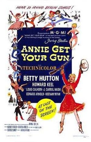Annie Get Your Gun (film) - Theatrical release poster