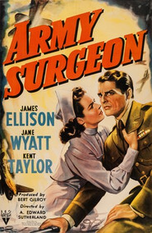 Army Surgeon - Theatrical release poster