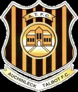 Auchinleck Talbot F.C. Association football club in East Ayrshire, Scotland, UK