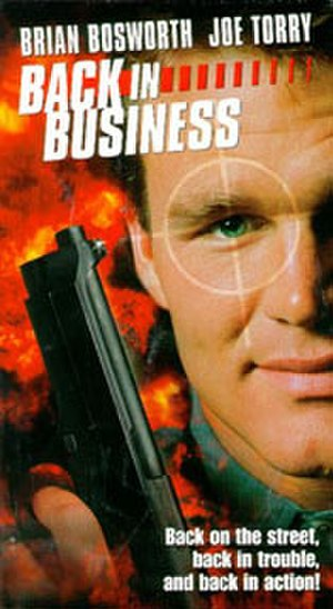 Back in Business (1997 film) - The movie cover for Back in Business.