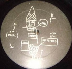 Beat Bop - B-side label