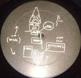 Beat Bop - B-side label