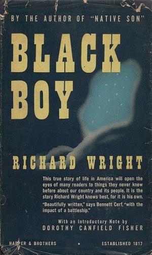 Black Boy - First edition