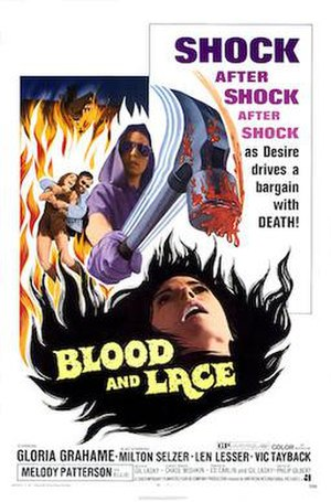 Blood and Lace - Theatrical one-sheet