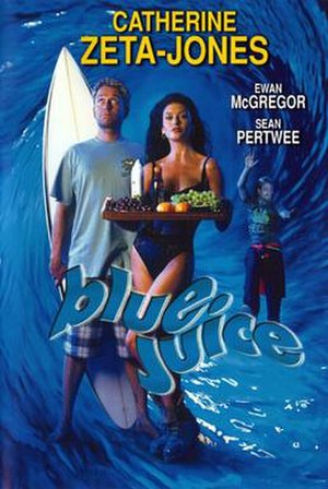 Blue Juice - Promotional film poster