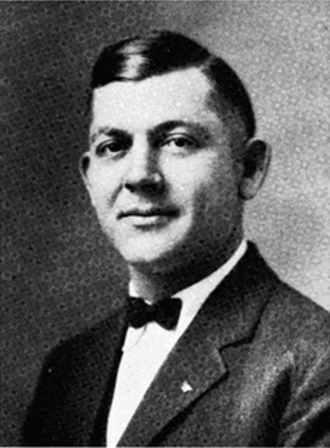 1914 College Football All-Southern Team - Boozer Pitts of Auburn.