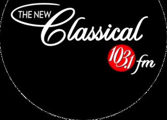 CFMX-FM - Image: CFMX The New Classical 103.1 logo