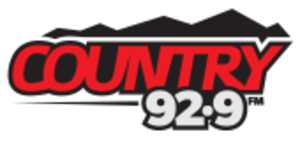 "CHTG-FM - Logo as ""Country 92.9"""