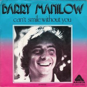 Can't Smile Without You - Image: Can't Smile Without You Barry Manilow