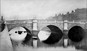 O'Connell Bridge - Carlisle Bridge, c. 1870s