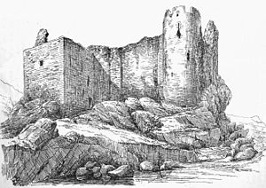Clan MacNeil - Castle Sween. MacNeills from Argyll are thought to have been hereditary keepers of the castle in the 15th and 16th centuries