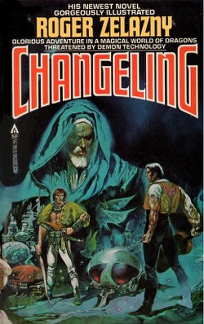 Picture of a book: The Changeling