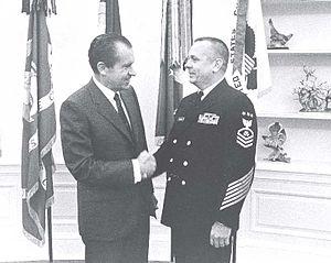 Charles Calhoun - Calhoun meeting with President Richard Nixon.