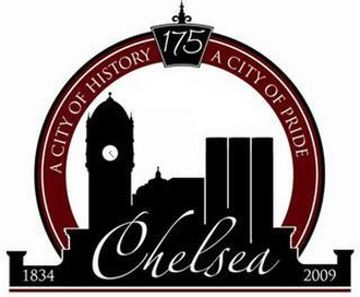 Chelsea, Michigan - Image: Chelsea michigan logo