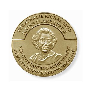Clarke Prize Gold Medallion