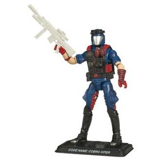 Cobra Troopers - Cobra Viper figure released in 2008.