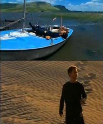 Color Esperanza - Diego in the music video.