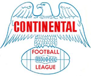 Continental Football League - Image: Continentalfoyujtr