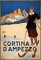 Cortina d'Ampezzo, travel poster for ENIT, ca. 1920.jpg