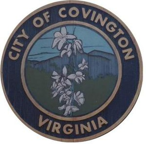 Covington, Virginia - Image: Covingtonseal