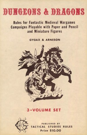 Editions of Dungeons & Dragons - The 1974 Dungeons & Dragons box set