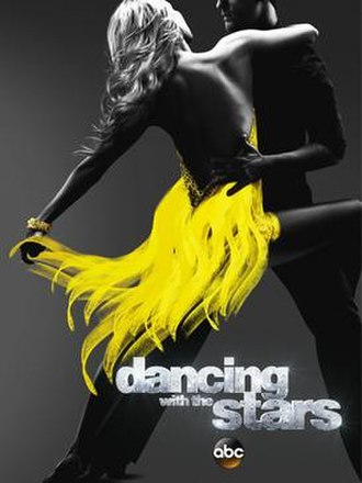 Dancing with the Stars (U.S. season 19) - Promotional poster, featuring former pro dancers Kym Johnson and Tristan MacManus