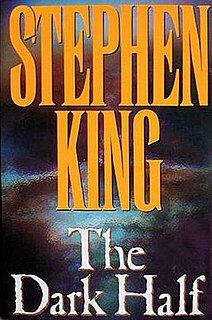 <i>The Dark Half</i> novel by Stephen King
