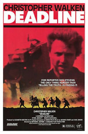Deadline (1987 film) - Theatrical release poster
