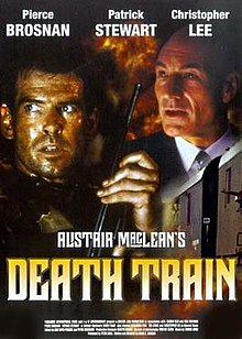 Death Train (1993) (In Hindi) SL DM -Pierce Brosnan, Patrick Stewart, Christopher Lee, Ted Levine, and Alexandra Paul