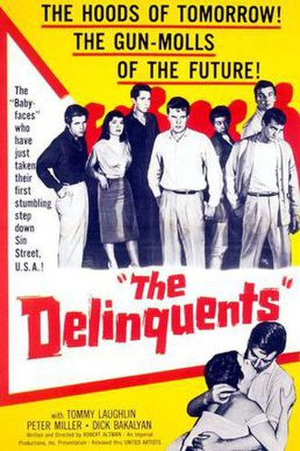 The Delinquents (1957 film) - Theatrical release poster