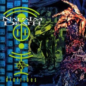 Diatribes (album) - Image: Diatribes Naplam Death