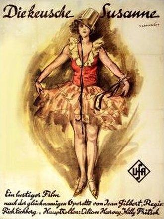 Chaste Susanne (film) - Movie poster
