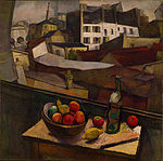 Diego Rivera - Knife and Fruit in Front of the Window - Google Art Project.jpg