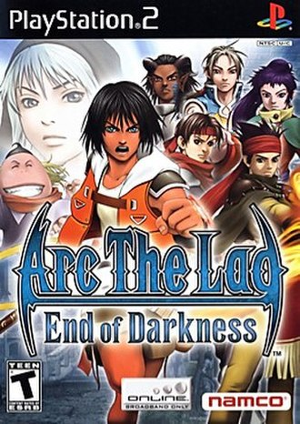 Arc the Lad: End of Darkness - Image: End of Darkness