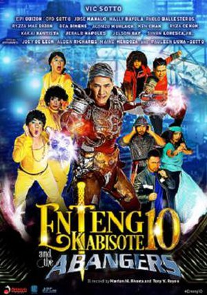 Enteng Kabisote 10 and the Abangers - Theatrical release poster
