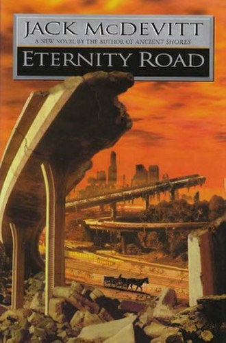 Eternity Road (novel) - First edition cover